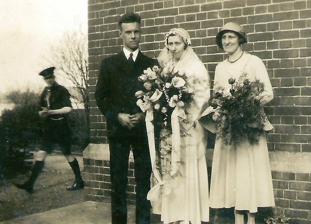 Jack and Winifred's wedding. Digital Memorial by www.socialembers.com