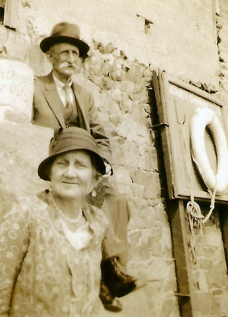 Emily Eliza with her husband George - from digital memorial by www.socialembers.com